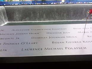 Laurence Polatsch 9/11 Memorial & Museum
