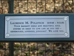 Laurence Polatsch New York's Central Park Bench