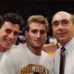 LP, Andrew and Brian with Dick Vitale